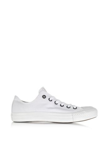 7c4adcb2a35 Converse Limited Edition White Monochrome Chuck Taylor All Star Lo Canvas  Sneaker