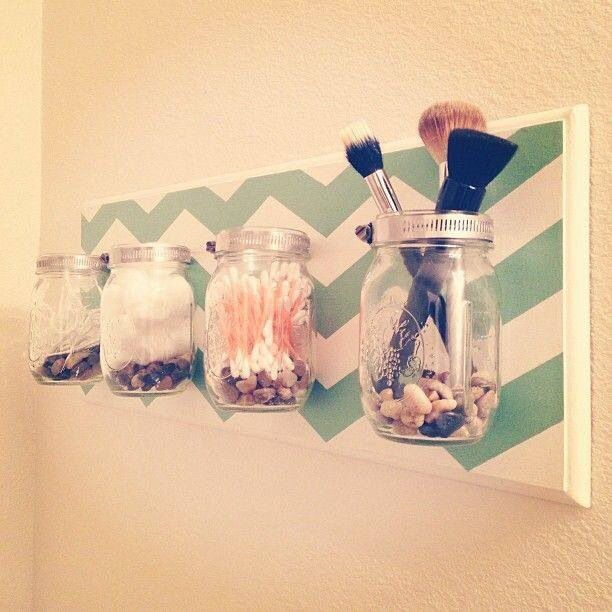 Bathroom organization idea