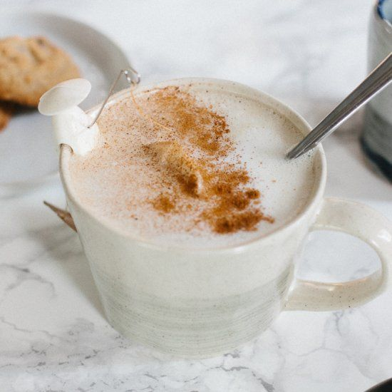 How To Make A Barista Style Drink At Home! Frothy Coconut