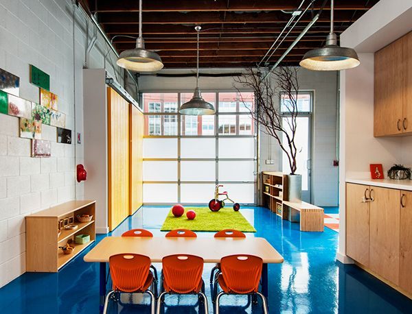 Captivating Brilliant Day Care Designed By Karen Curtis Of Red Dot StudiosFeatured In Dwell  Magazine Online Http