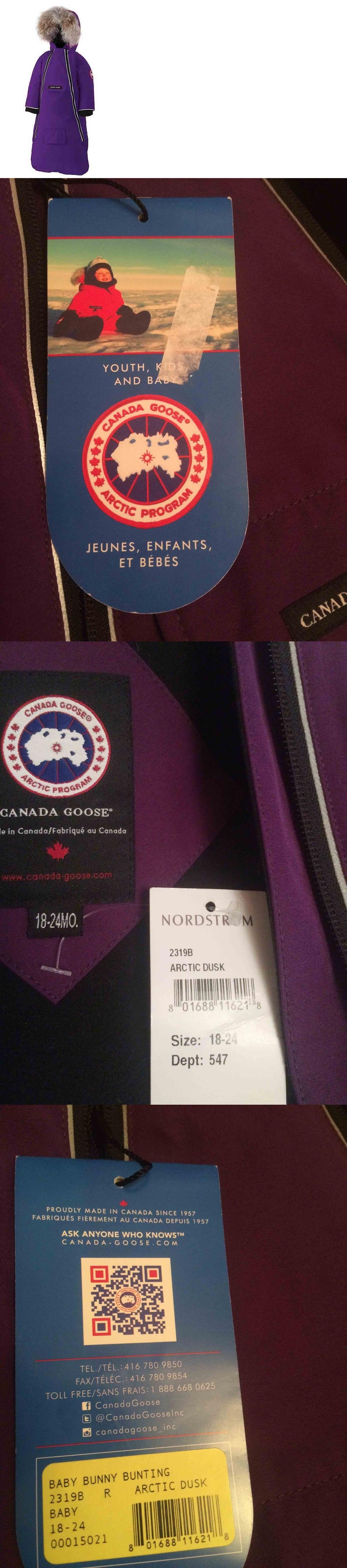 canada goose label ebay