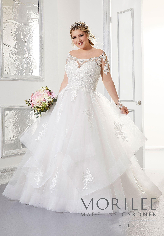 Alyssa Wedding Dress Morilee Ball Gowns Wedding Wedding Dresses Ball Gown Wedding Dress [ 2630 x 1834 Pixel ]