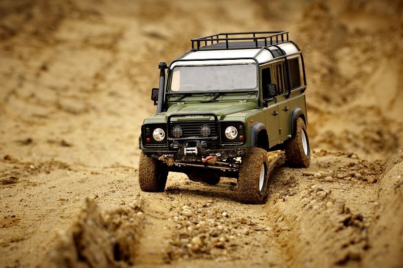 Land Rover Defender 110 Scale 4x4 R C Forums Land Rover