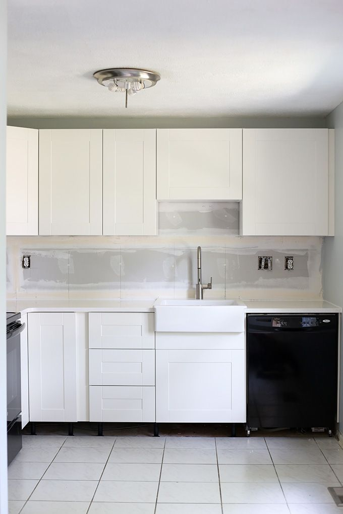 How to Design and Install IKEA SEKTION Kitchen Cabinets | House ...