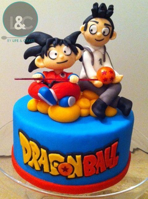 Dragon Ball Z Cake Decorations Prepossessing Dragon Ball Cake Topperlife & Cakes Via Flickr  Cute Ideas Design Decoration