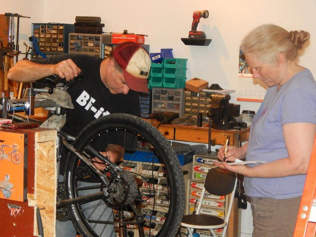 Bicycle repair bike repair repair bike