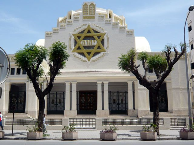 Jewish Synagogue in Tunis, Tunisia | Churches of the World ...
