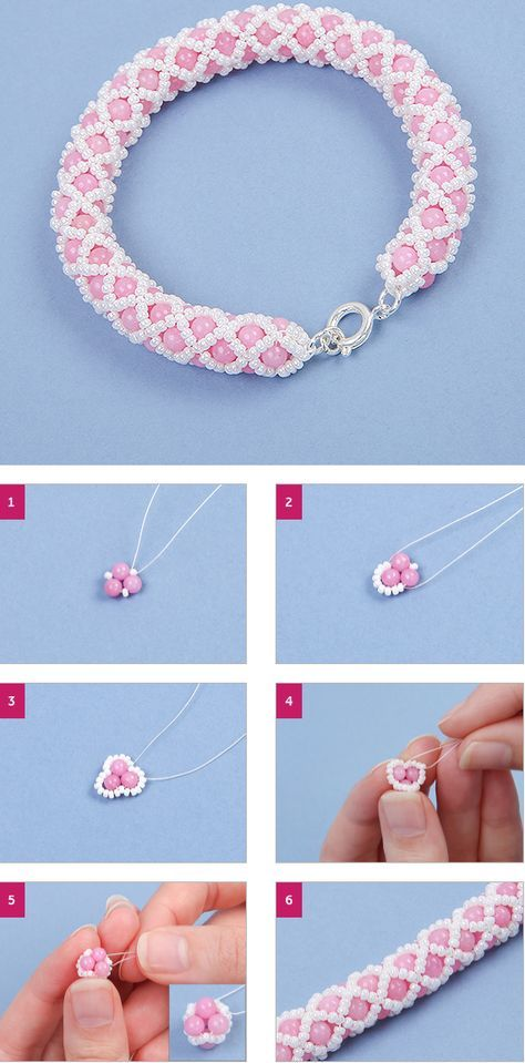 How to create a netted bracelet | Jewellery Making Tutorials
