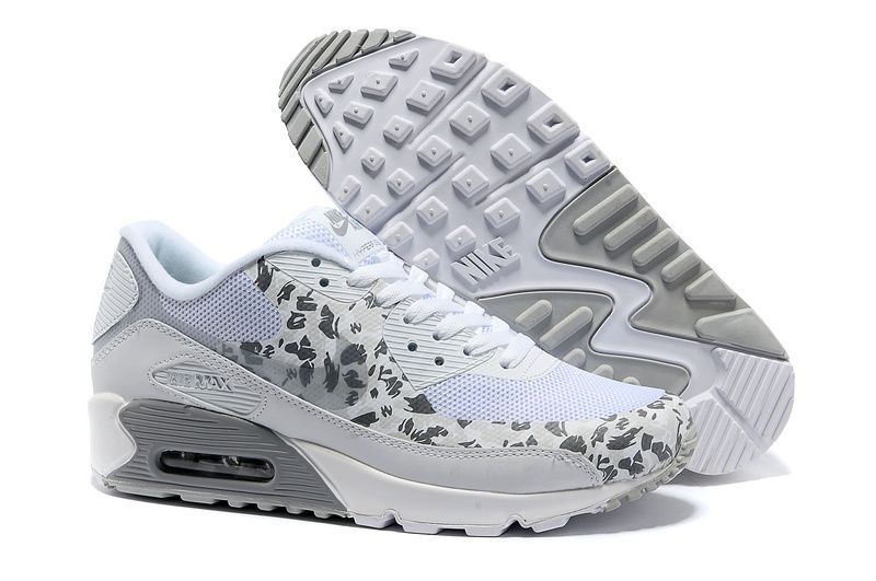Nike Air Max 90 Hyperfuse Premium Camouflage Pack White
