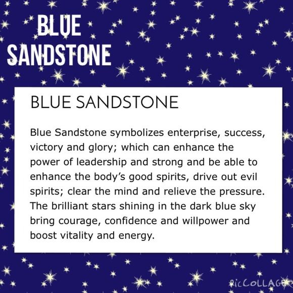 Ohmgems Jewelry Gemstone Meaning Blue Sandstone Or