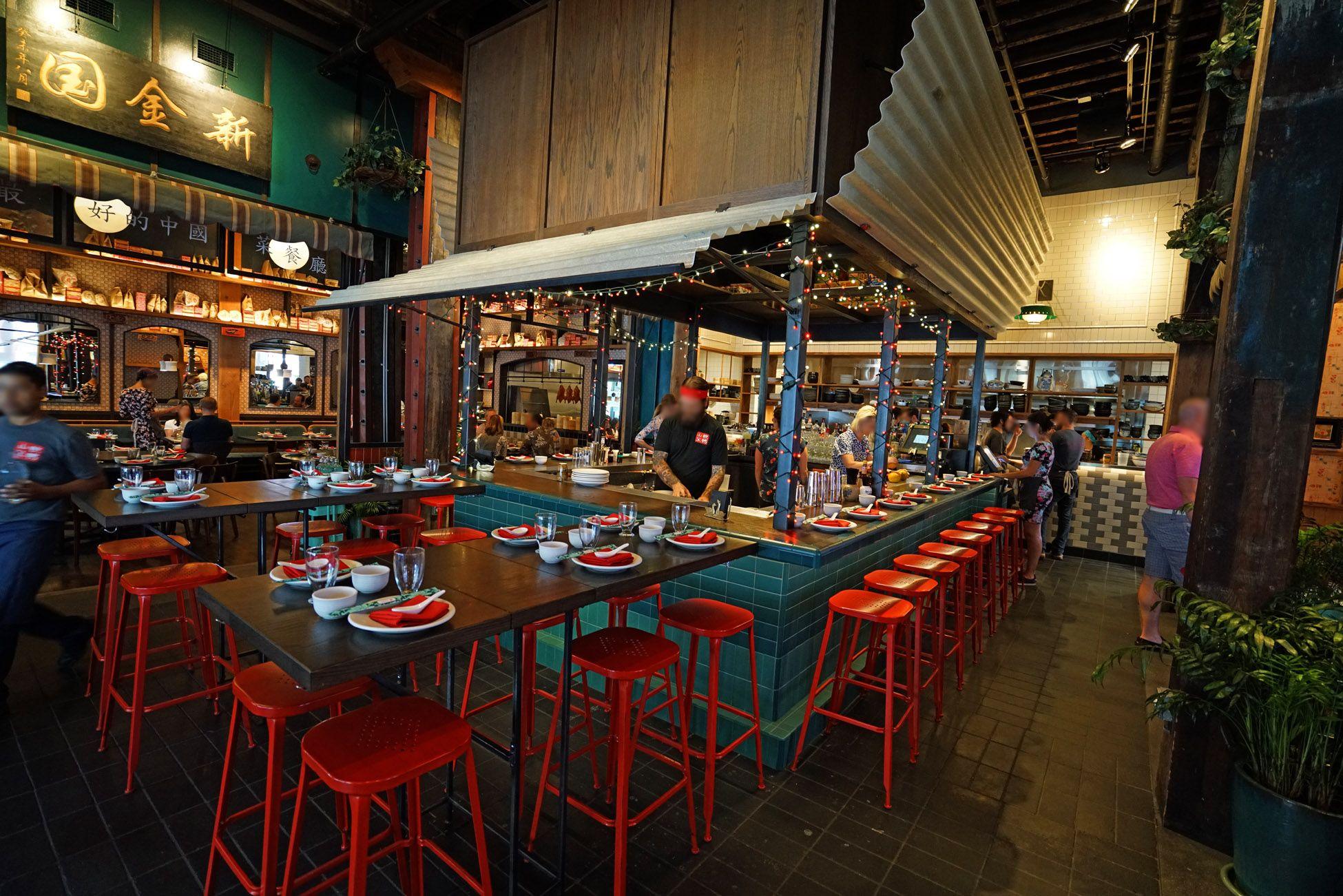 Thai Food Restaurant Street Food Design Asian Cafe