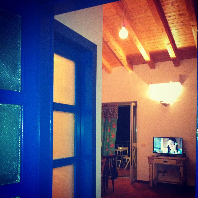 porte blu mare