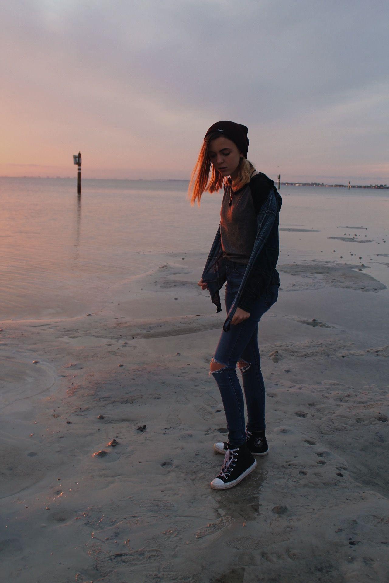#beach #photography #aesthetic #tumblr #sunset # ...