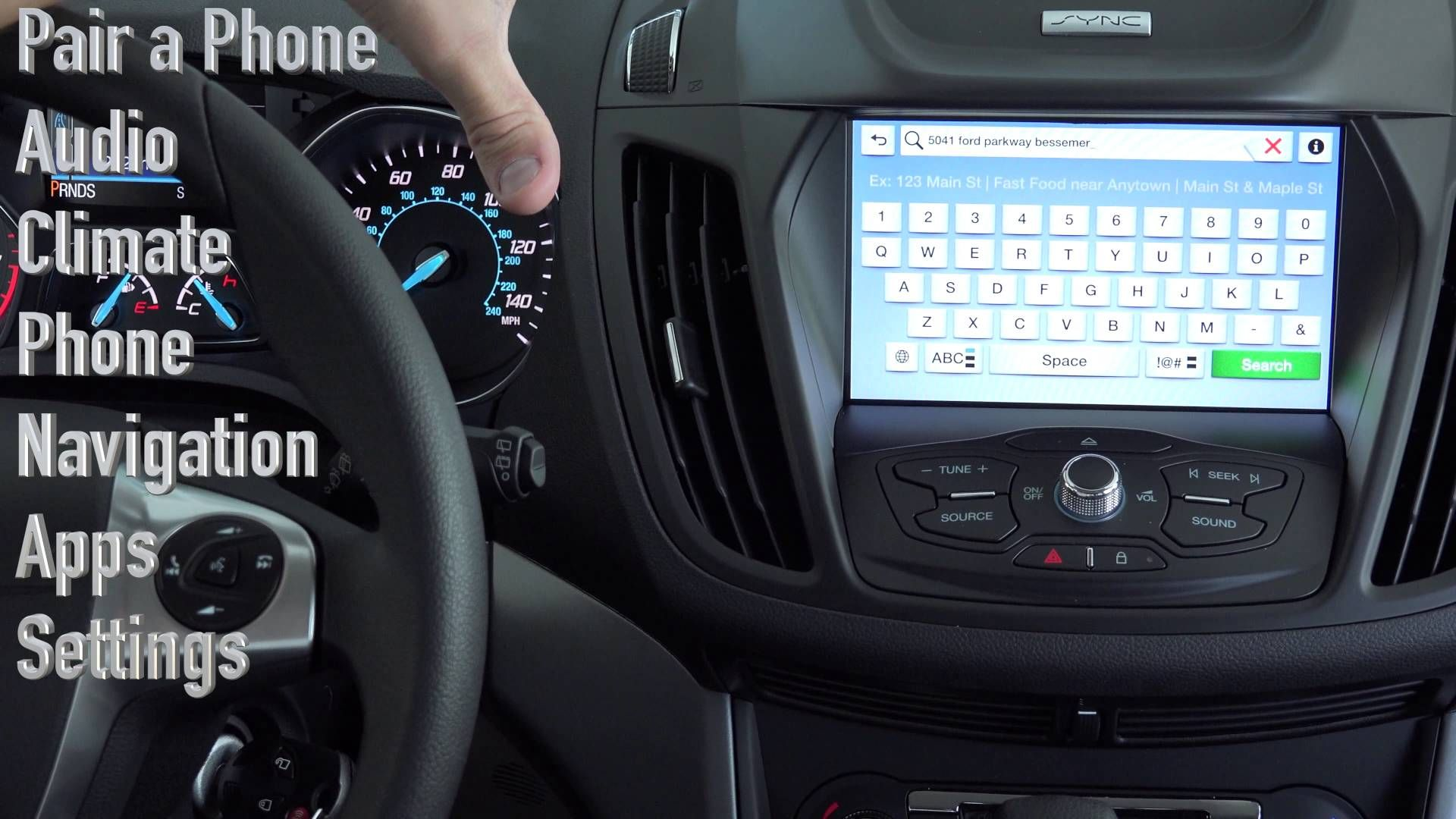 ford s sync 3 hands on full tutorial everything about ford rh pinterest com Ford Freestyle Navigation System Manual Ford Focus Navigation System
