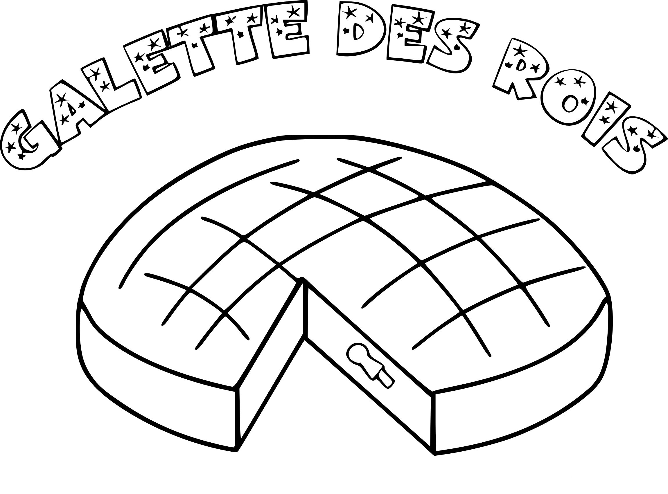 30 Coloriage Galette Des Rois Facile Bathroom Lettering