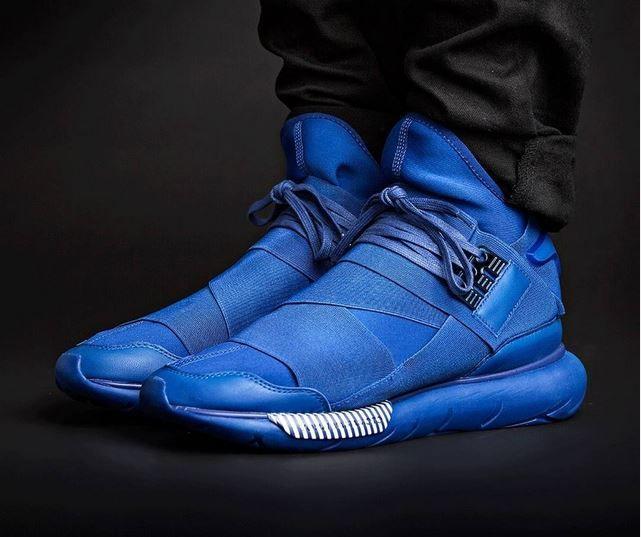 adidas Y-3 Qasa: Blue