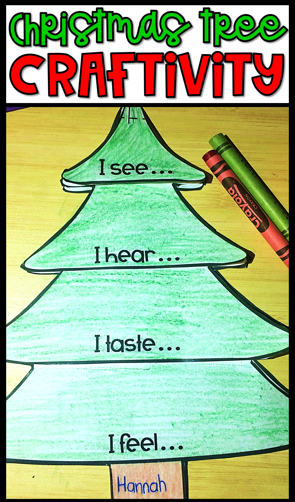 Christmas Activities Christmas Writing Interactive Sense
