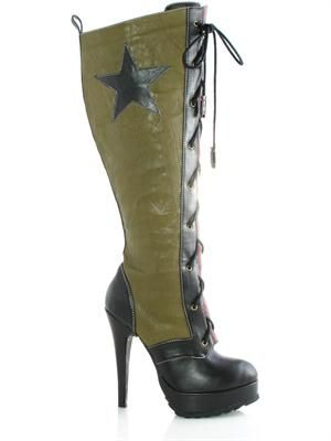 Sexy military boots