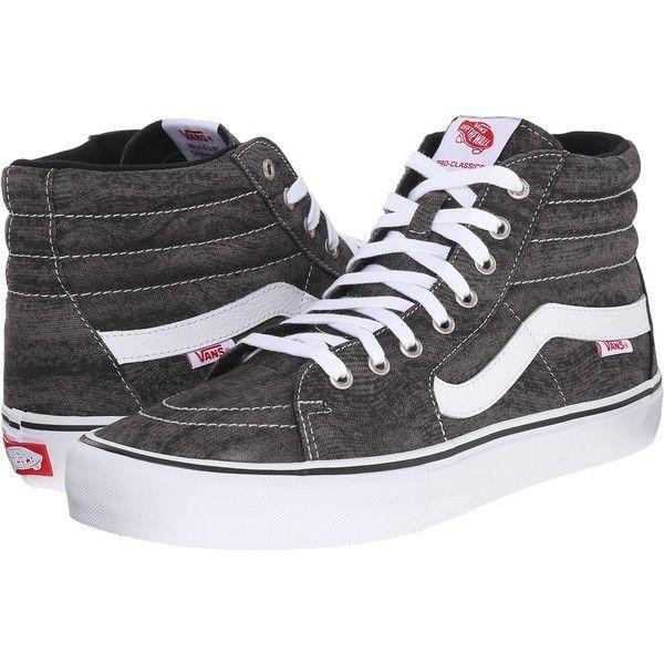 Vans SK8-Hi Pro ((Distortion) Black White) Men s Skate Shoes ( 40 ... 0808341bfa