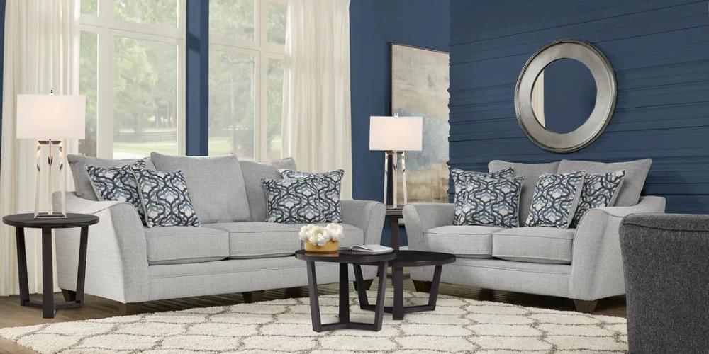 Victoria Park Dove 5 Pc Living Room Living Room Sets Living Room Sets Furniture Classic Living Room