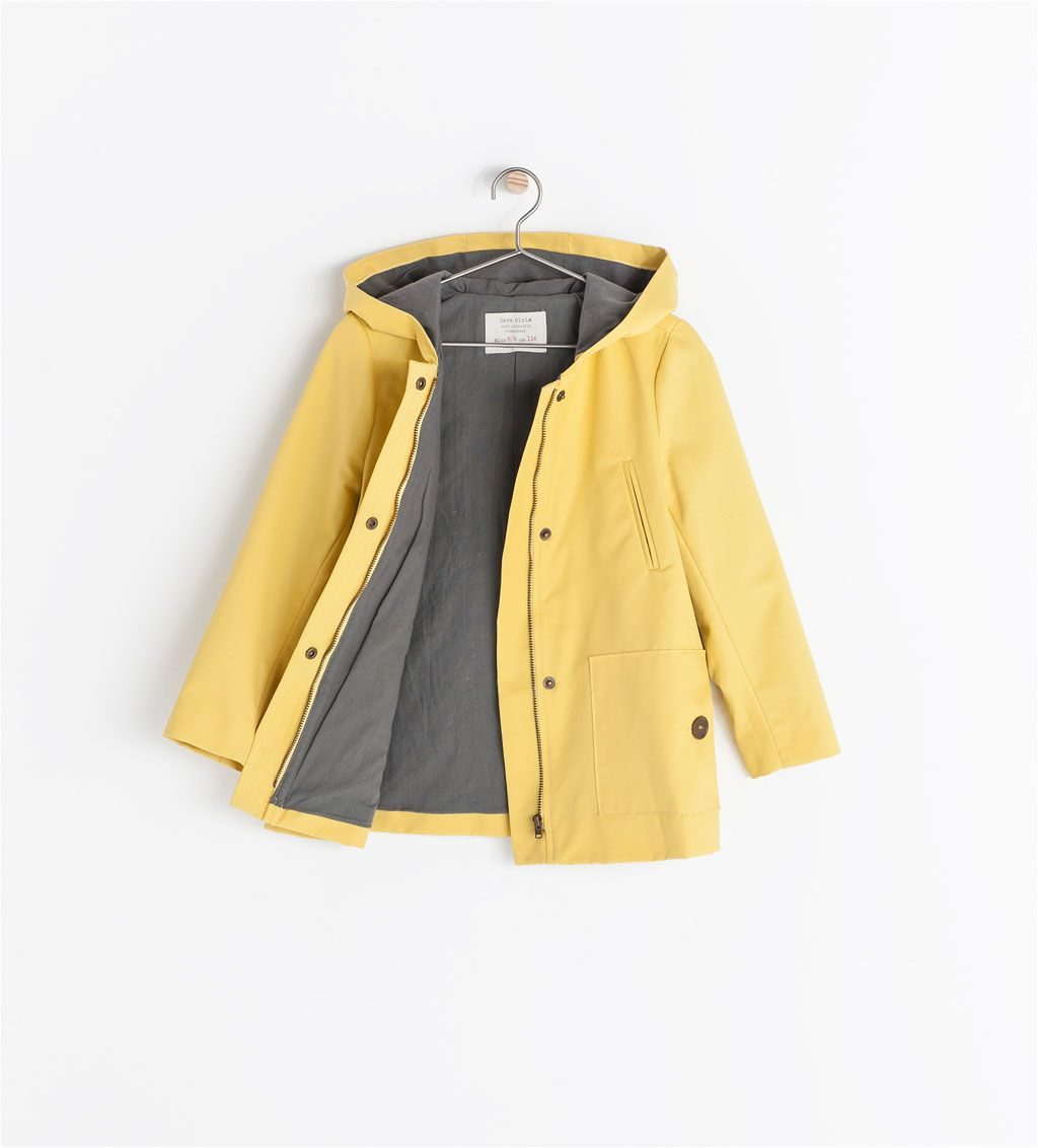 5502ac35a08 Image 1 of COATED TRENCH COAT from Zara Spring jacket for Kizzy ...