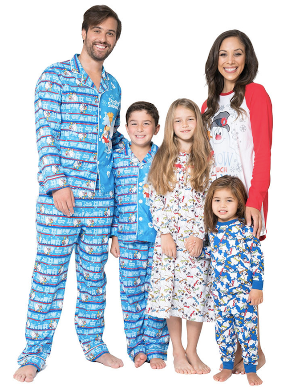 2b73adf6e5 Frosty the Snowman Family Matching Pajamas