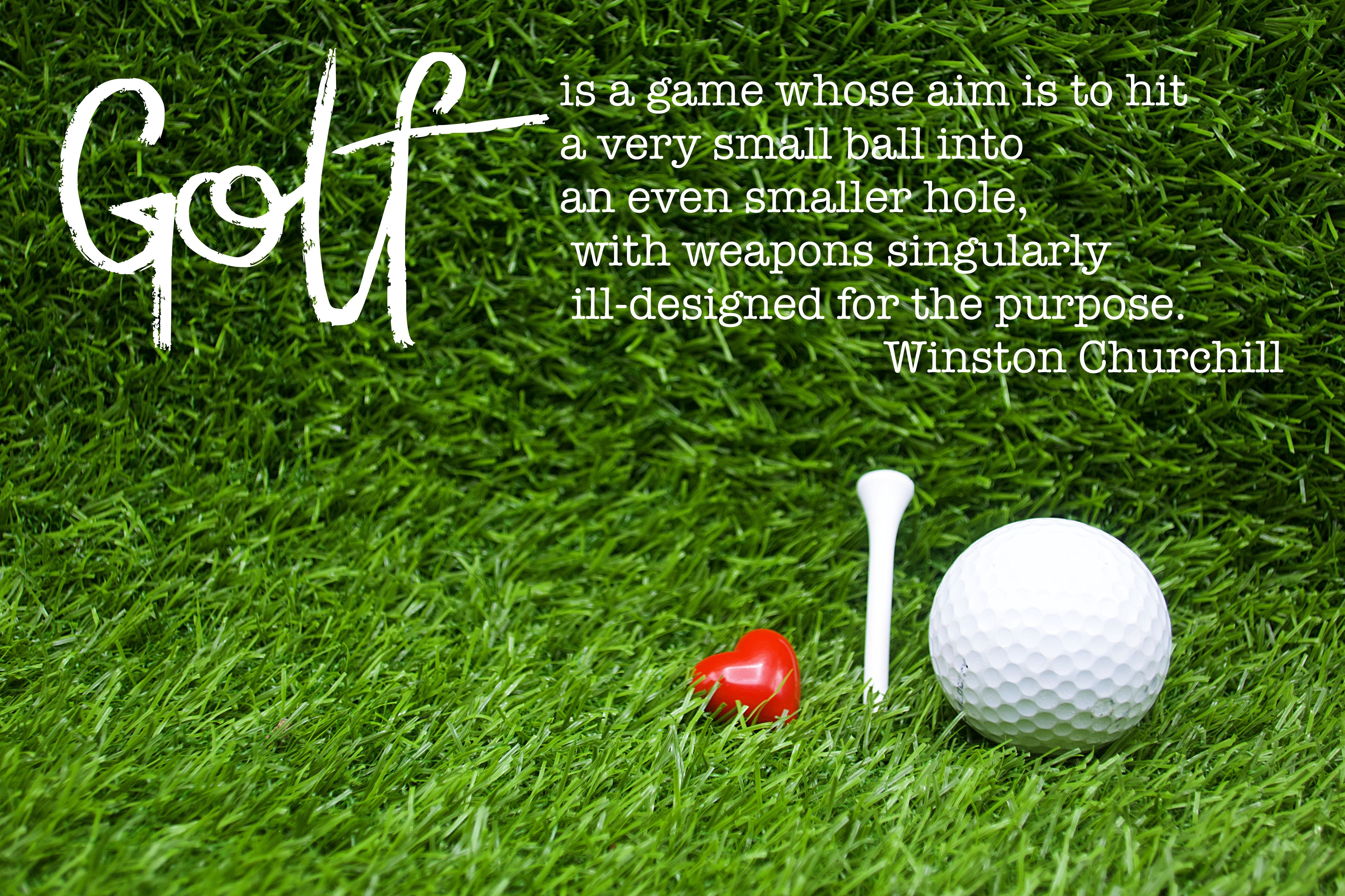 Funny Motivational Golf Quotes