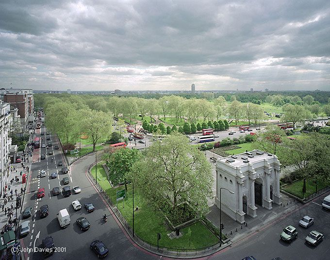 Hyde Park Marble Arch London Uk Marble Arch London London Marble Arch