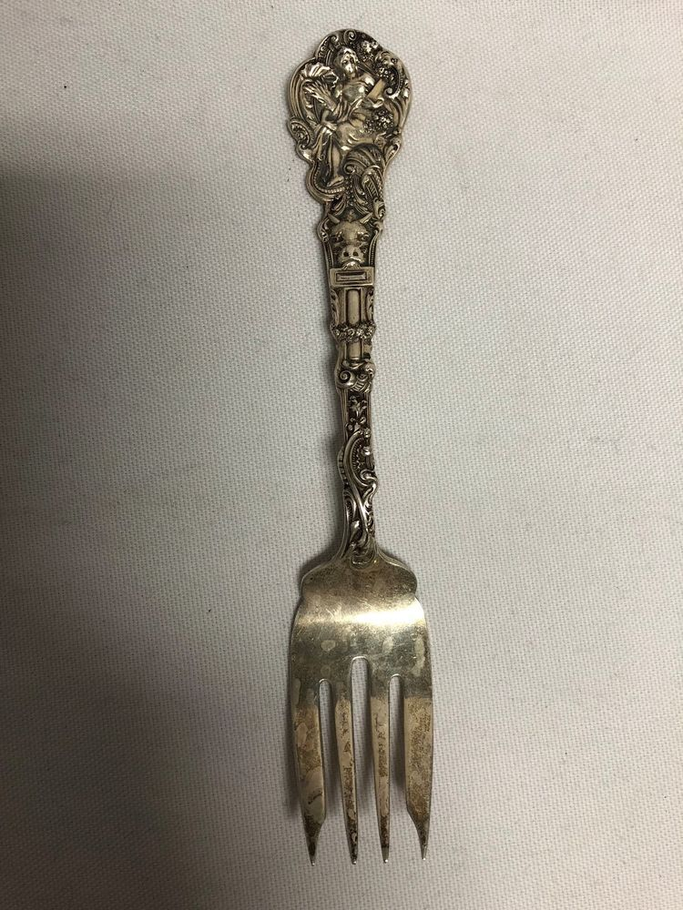 "Gorham Sterling Silver SEA ROSE Teaspoon 6/"" No Monogram"