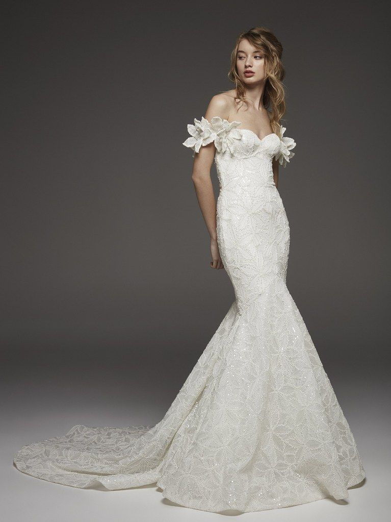 393190c95f1 28 Floral Wedding Dresses Perfect for a Spring Wedding