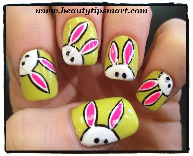 Easter nail designs easy and simple easter bunny ideas nail art easter nail designs easy and simple easter bunny ideas nail art designs 2014 prinsesfo Images
