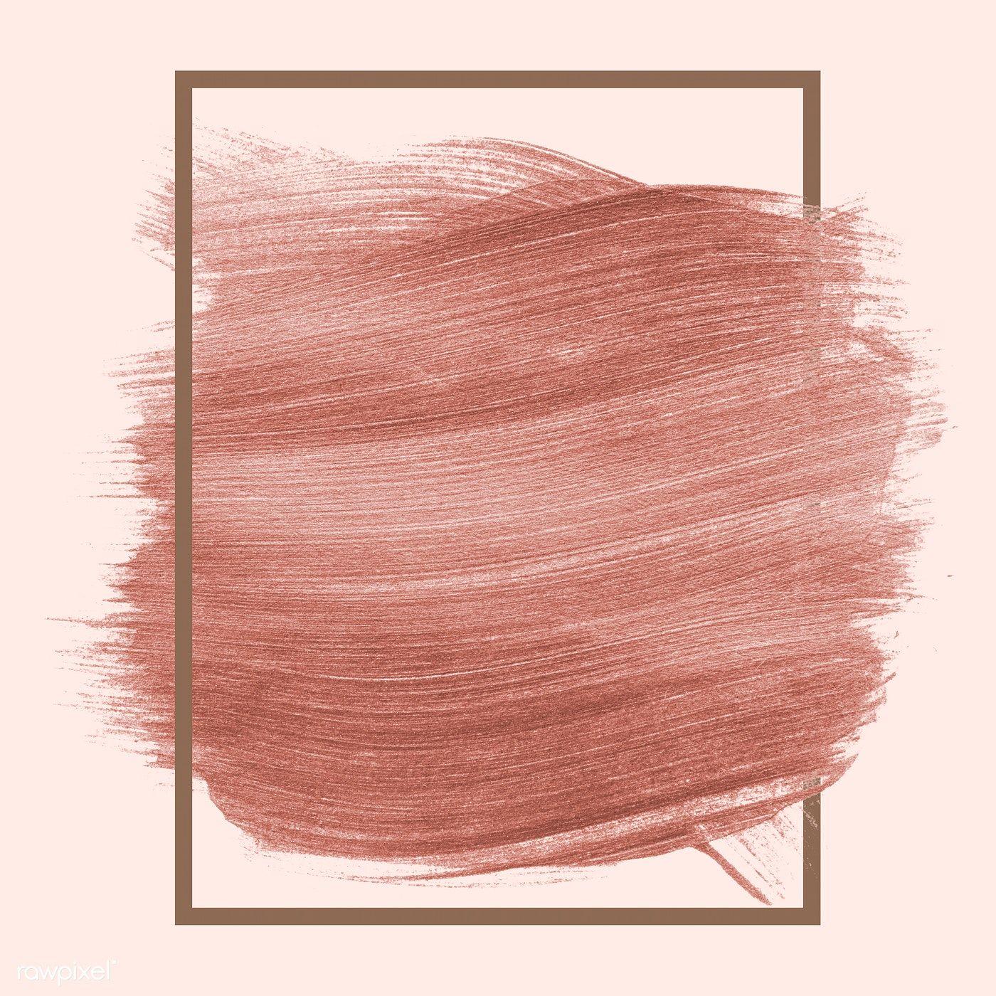 Download Premium Psd Of Pink Shimmery Brush Stroke Badge 552960 Brush Strokes Rose Gold Pink Pink Brushes