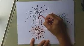 How To Draw Fireworks Bing Videos Ceramics