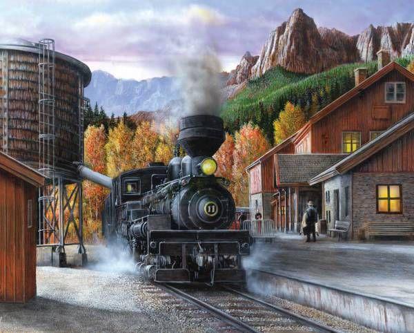 Puzzle Tren a Vapor ( Ref:  0000010713 )