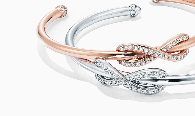 Bague Tiffany Infinity   Bracciali tiffany, Gioielli, Bracciali