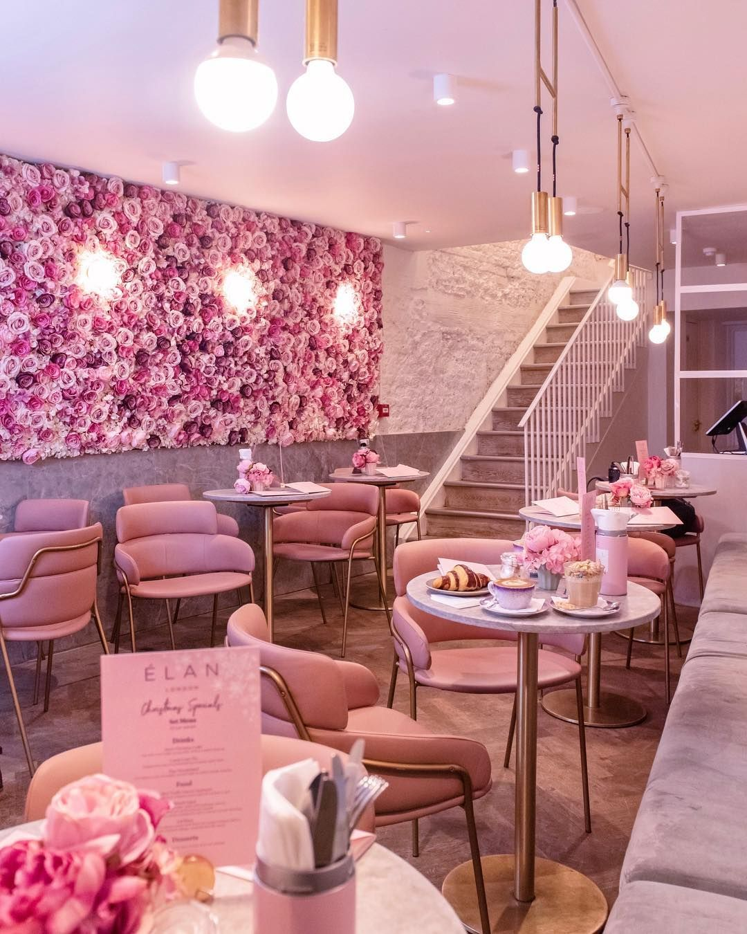 Park Lane settings 🌸 Cake shop design, Cafe interior