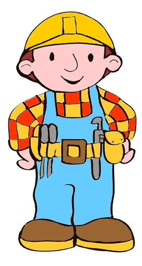 draw bob the builder bobs clip art and crafty rh pinterest com  bob the builder clip art free