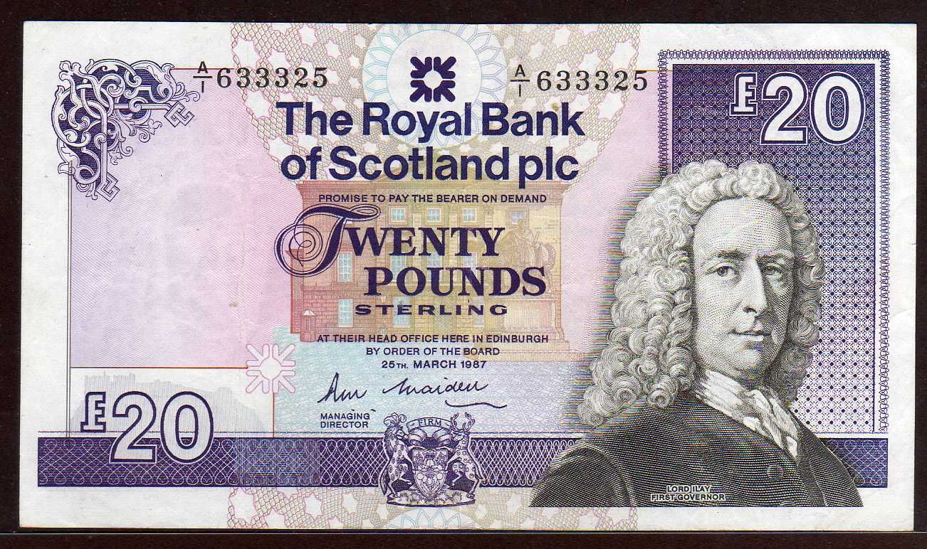 Scotland 5 Pounds 2005 - Scottish Currency Bank Notes, Paper Money ...