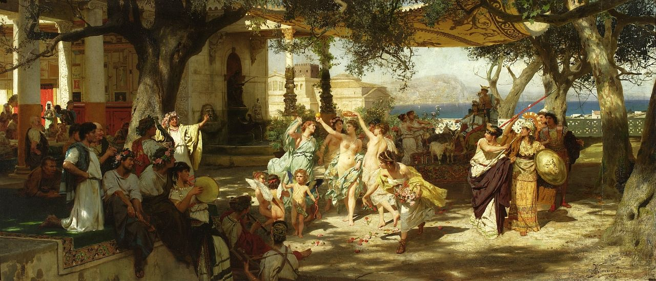 Henryk Siemiradzki (1843–1902, Poland)  History paintings  Siemiradzki was a Rome-based Polish painter, best remembered for his monumental Academic art. He was particularly known for his depictions of scenes from the ancient Graeco-Roman world, and the New Testament and early Christians. He also painted landscapes and portraits, and his paintings are mainstays in galleries and museums across Eastern Europe.