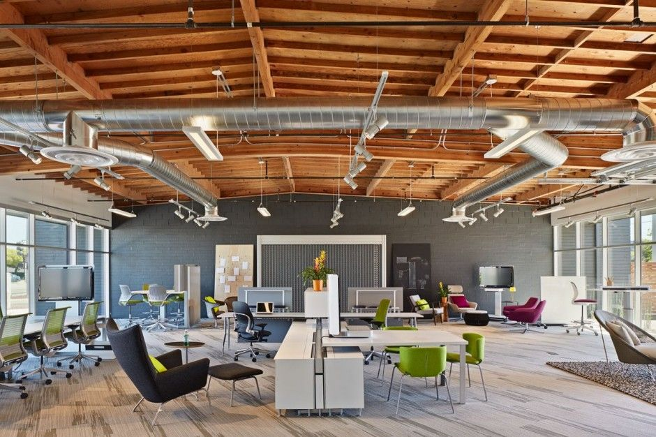 Playful And Ambitious One Workplace Project In Santa Clara California