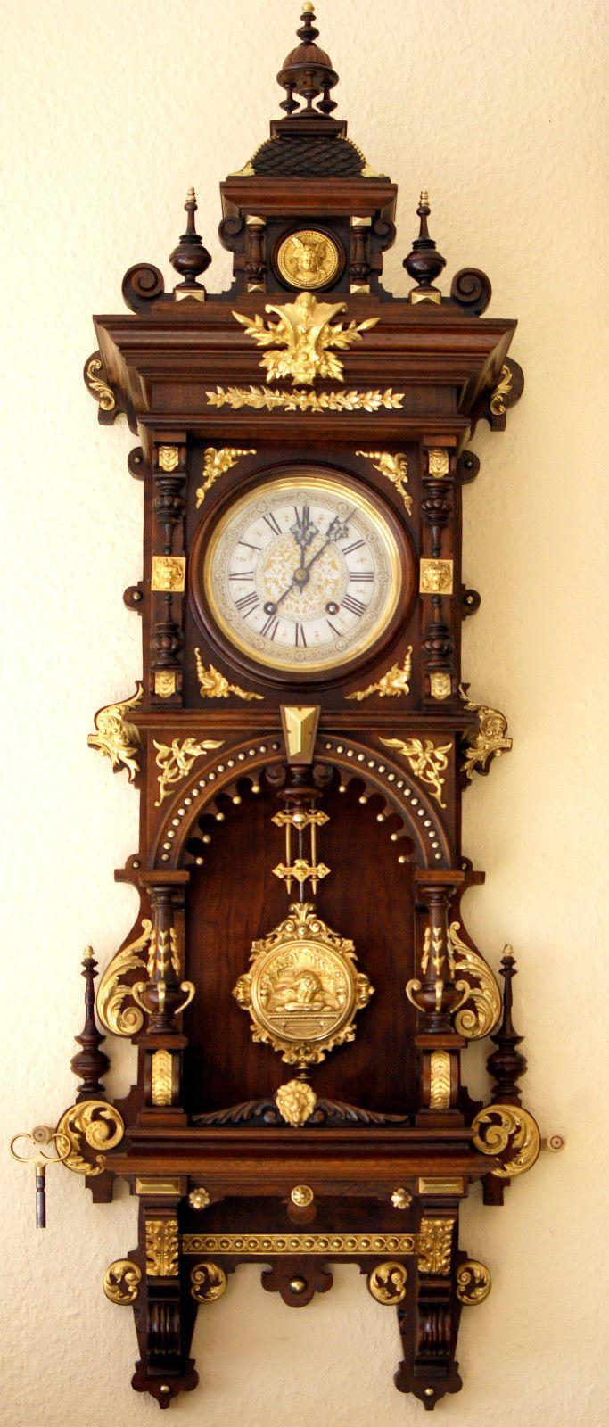 lenzkirch freischwiger 1880 ebay clock wall clock pinterest und. Black Bedroom Furniture Sets. Home Design Ideas