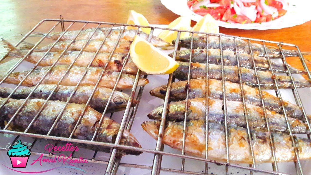 أسرار شواء سمك السردين على الفحم على طريقة مطاعم مدينة العرائش رووووووعة Food Chicken Meat