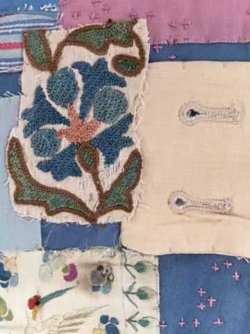 Thread and Thrift: A new textile collage