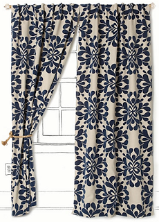 Navy Blue Curtains Patterned Navy Blue Curtains Png