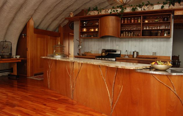 Its A Steel Eco Friendly Quonset Hut Upstate Brings The Outside In