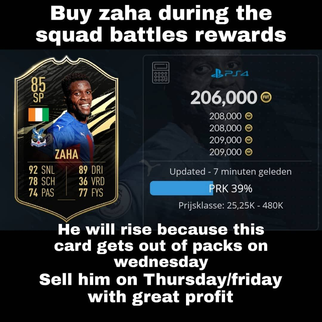 Buy This Card During The Squad Battles Rewards Sell Him Thursday Evening Friday Why Will He Rise He Will Rise Beca In 2020 Easy Money Transfer Rumours Getting Out