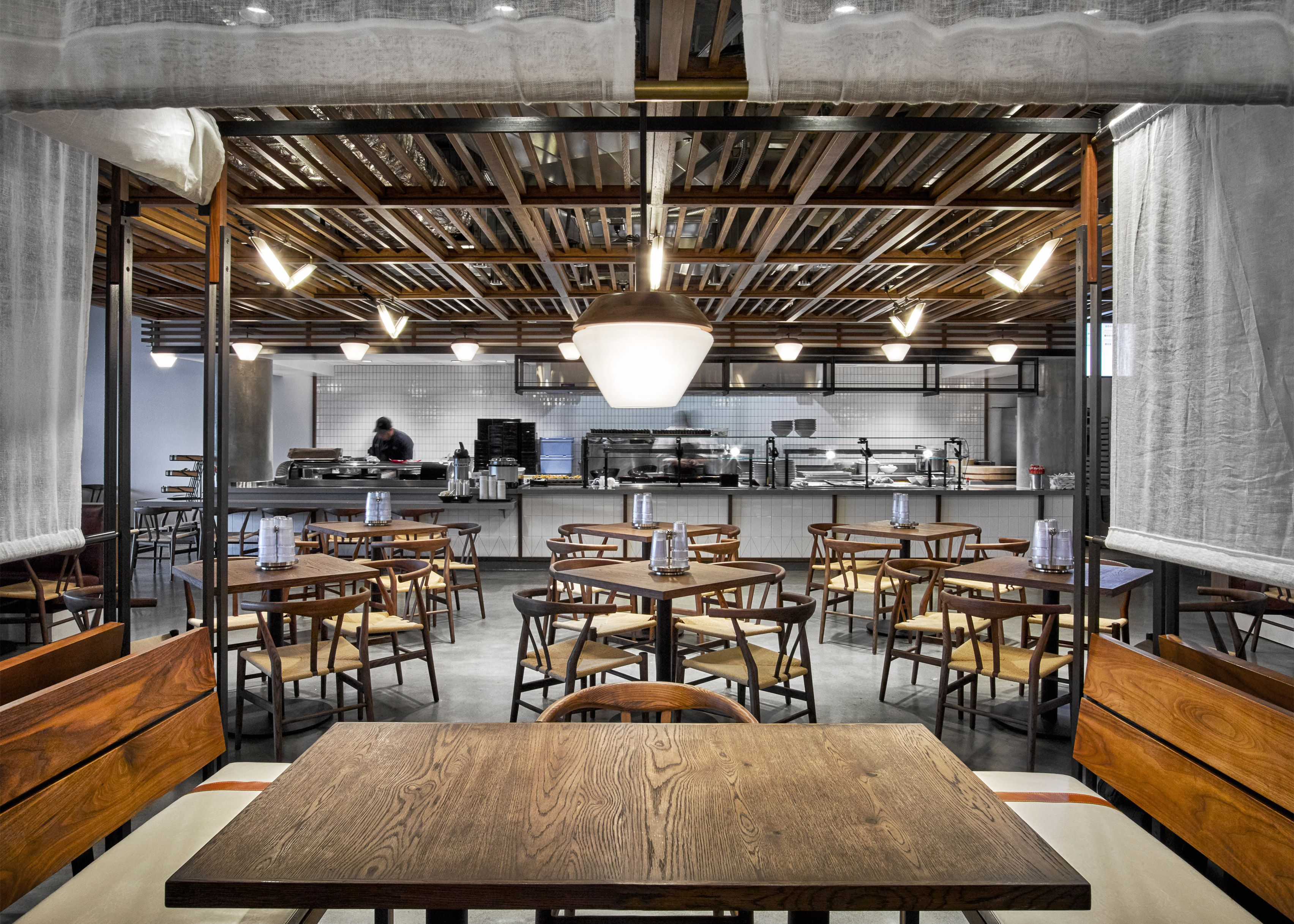 Dropbox opens industrialstyle cafeteria at California