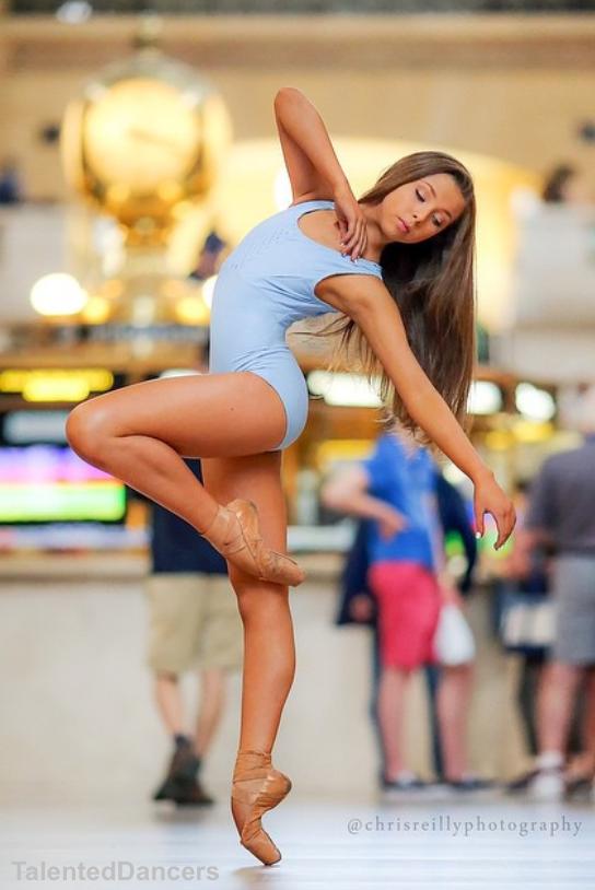 Sophia Lucia (12) bailarina y modelo