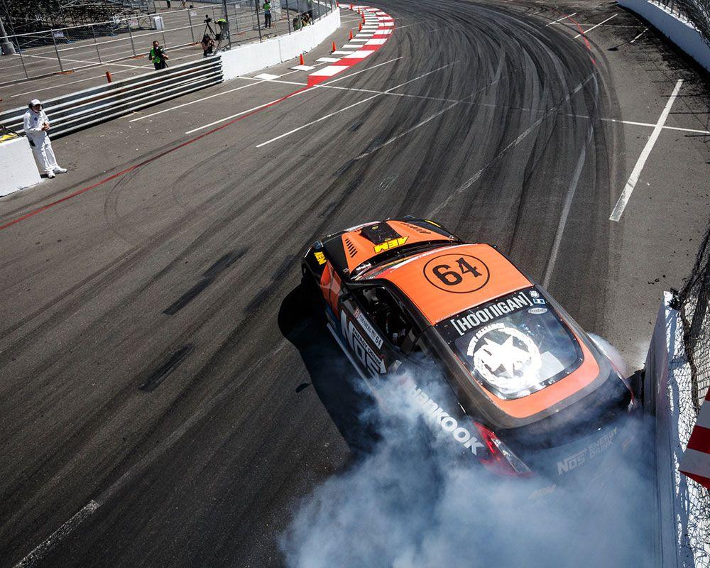 AEM Sponsored Formula Drift Champ Chris Forsberg Starts
