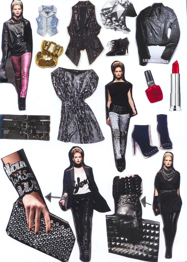 Glam Rock Outfits For Girls Images Galleries With A Bite